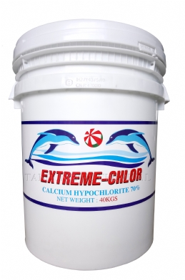 Chlorine 70% ( Drum Style USA 40kg)